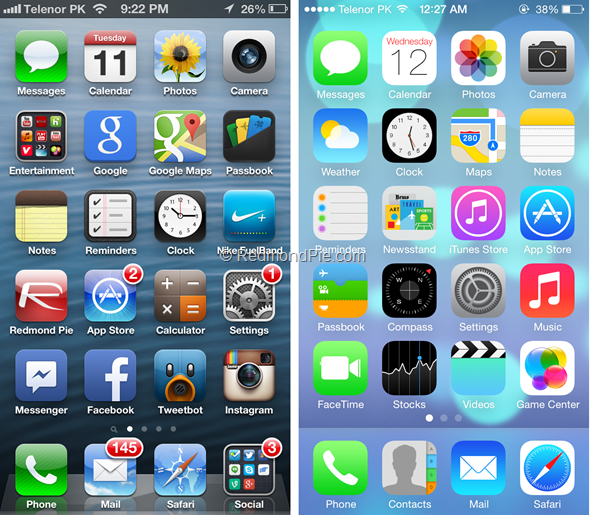 Iconica App For IOS Compare Logos