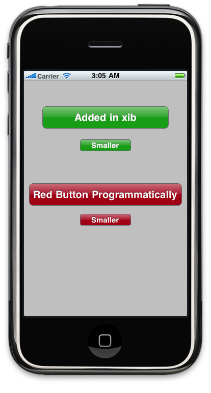 Glass Buttons in iPhone Apps Without Using Image Files